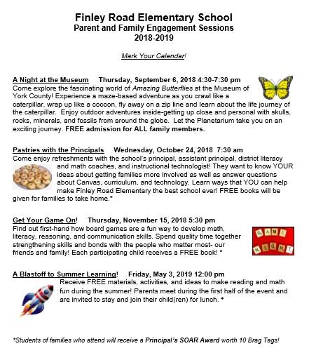Finley Road Elementary School Homepage