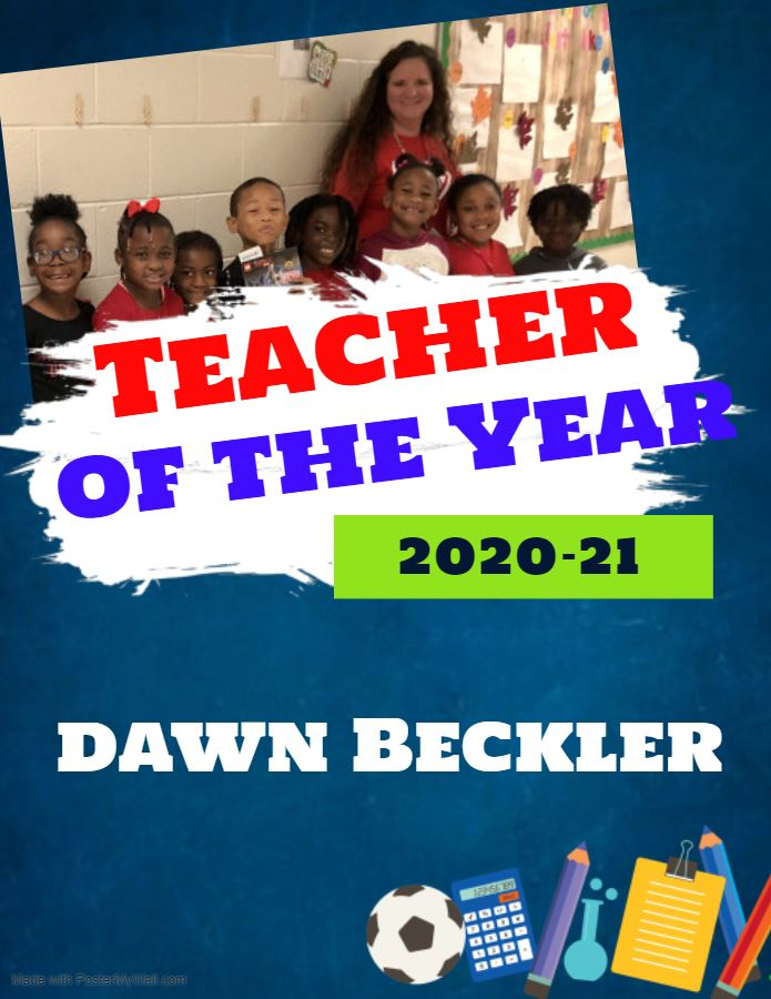 Beckler Named Teacher of the Year