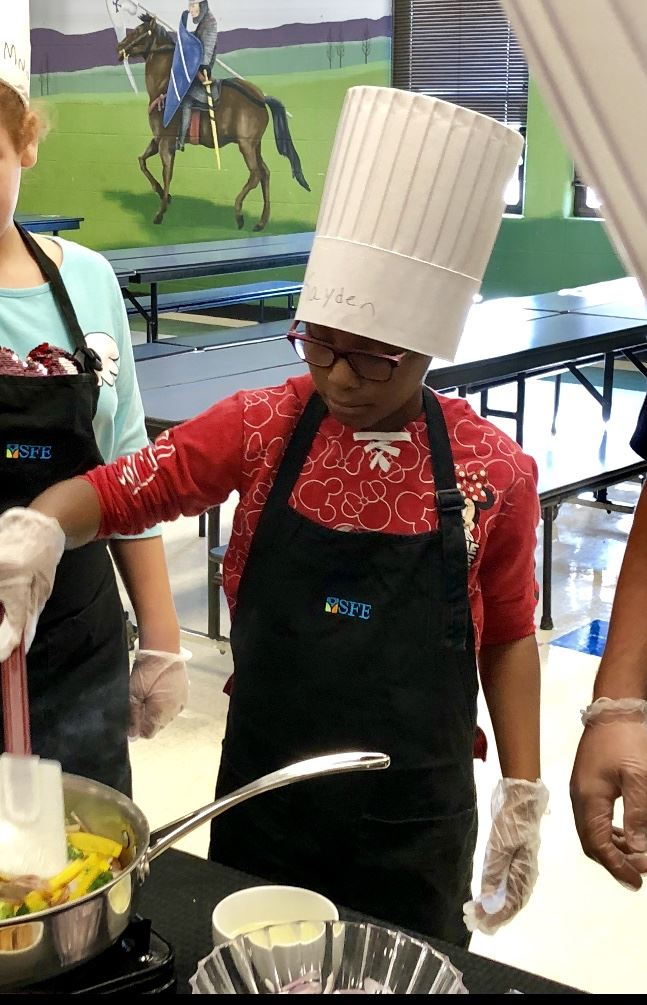 Roving Chef Program Visits MGES