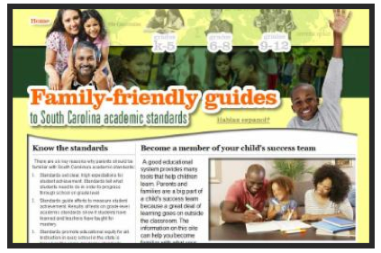 Parent Friendly Standards
