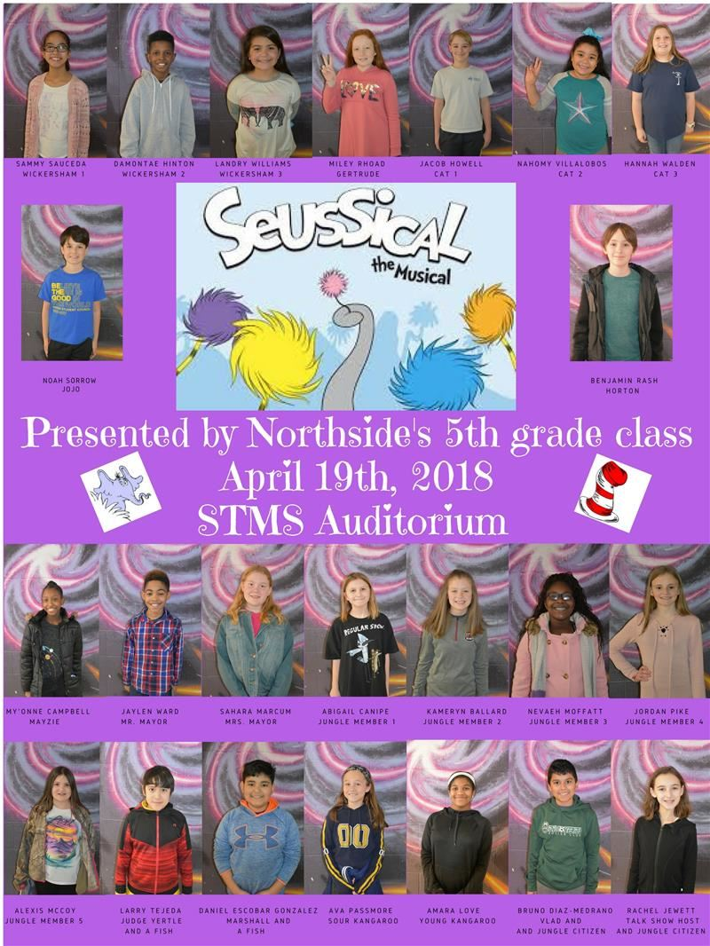 Fifth Grade Production of Suessical