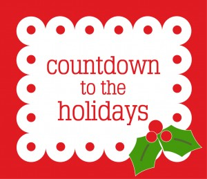 Countdown to the holidays!