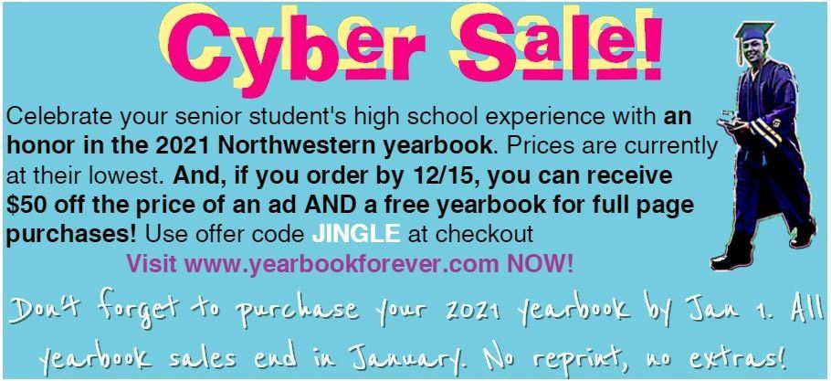 Yearbook Cyber Sale