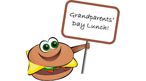 Grandparents' Lunch with Grades K-1-2 September 26th