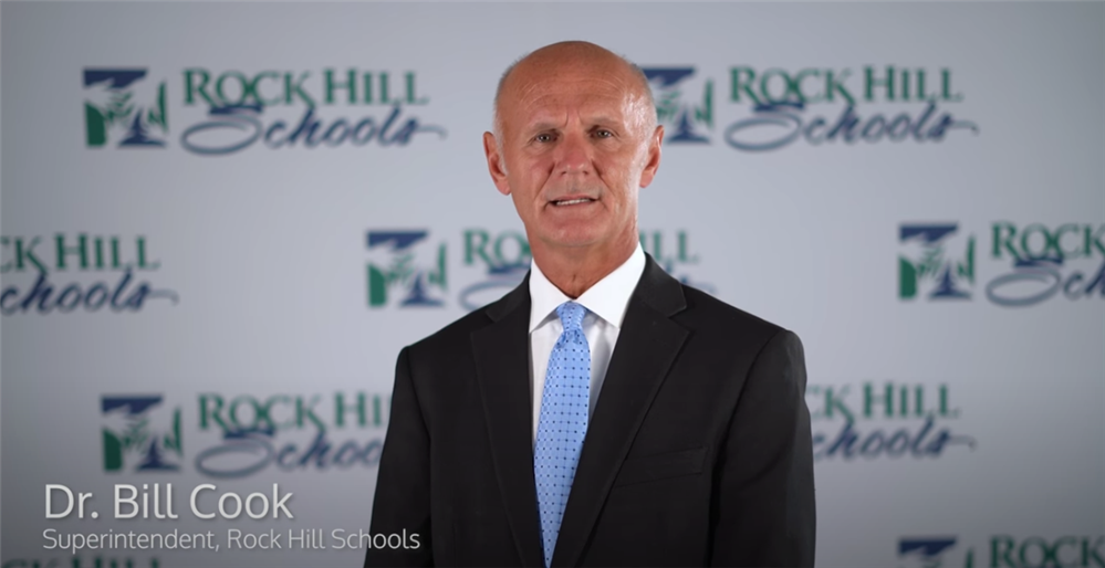 Message from Superintendent Dr. Bill Cook