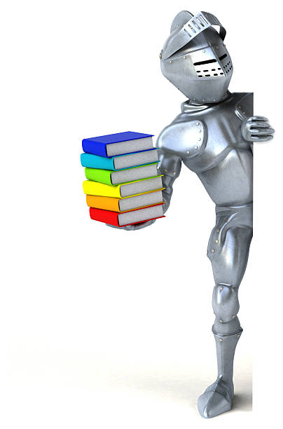Knight with Books