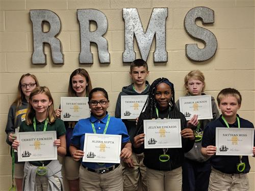 Congratulations, Students of the Week
