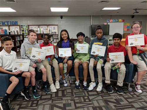 Students of the Week 10/8 - 10/12