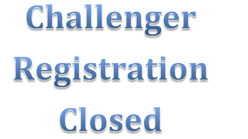 Challenger Registration Closed