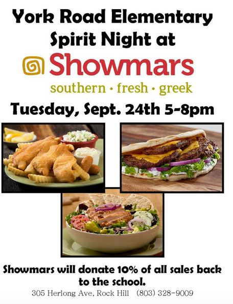 Showmar's Spirit Night