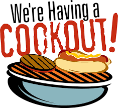 8th Grade Cookout May 24th