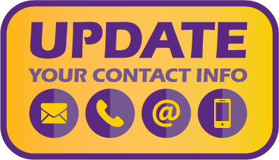 Has your contact information changed?