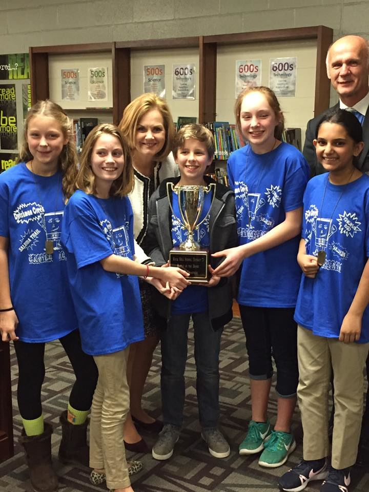 First Place!  Battle of the Books Champs