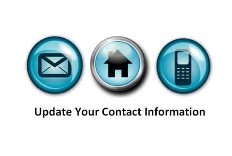 UPDATING your CONTACT INFORMATION