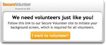 volunteer application - click here