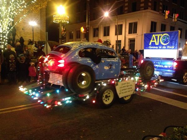 ATC Students participate in the Rock Hill Holiday Parade