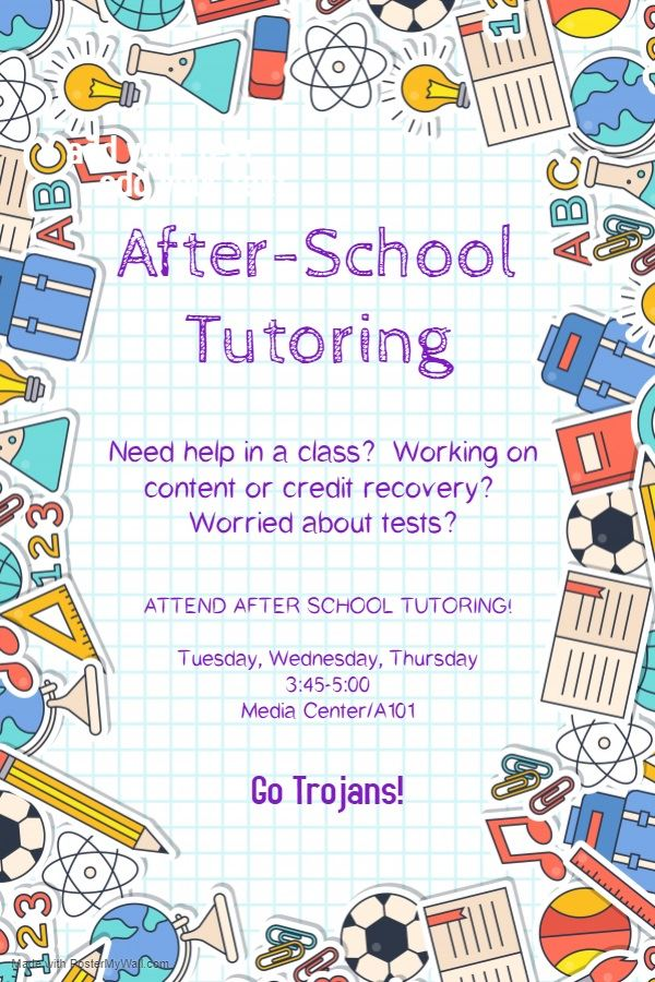 After-School Tutoring Program
