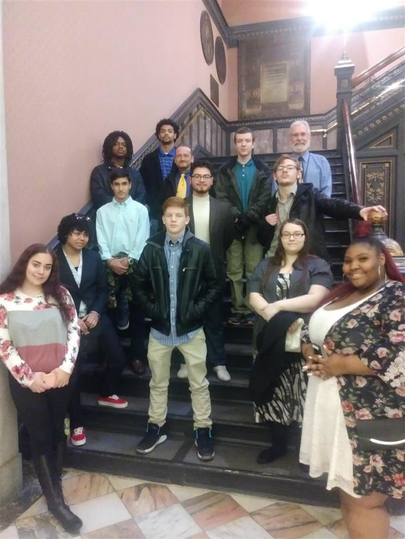 Students Visit SC State House