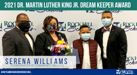 Service and Celebration: Serena Williams Awarded the 2021 Dr. Martin Luther King Jr. Dream Keeper Award
