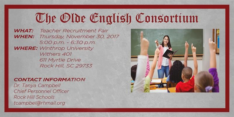 Olde English Consortium teacher job fair