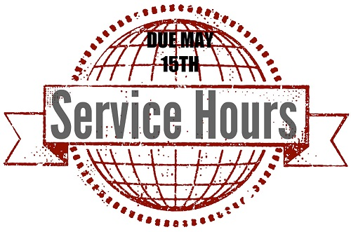 SERVICE HOURS DUE