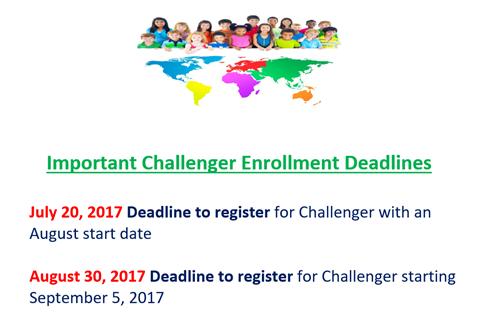 Challenger Deadlines
