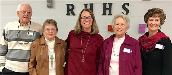 Class of 1965 with Mrs. Starcher